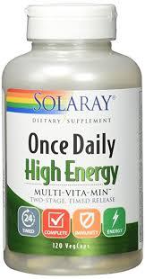 Amazon Solaray ce Daily High Energy Multi Vita min Two