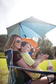 Kelsyus Original Canopy Chair With Ottoman by Amazon Com Sport Brella Umbrella Chair Blue Sun Shelters