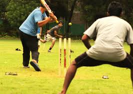 Cricket Is The Staple Game In India For Several People Of All Ages Here Young Boys Are Seen Playing A Friendly