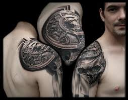 Cool Shoulder Tattoos For Men