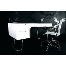 bureau design noir laqu bureau blanc laquac design bureau design noir laquac bureau design