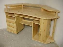 Woodworking Plans Computer Desk Free by Desk Wood Corner Desk Plans Free Simple Corner Computer Desk
