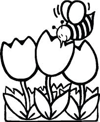 Simple Mandala Flower Coloring Pages For Adults To Print Sheets Preschoolers Animal Pictures Bee