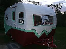 Reconditioned Dynamite Little 1960 Vintage Winnebago Travel Trailer Camper