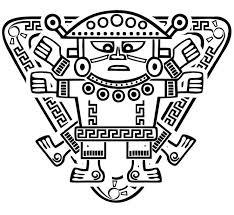 Inca Tribal Tattoo Scheme