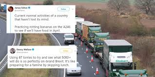 100 Funny Truck Driver Jokes Brexit There Was A Fake Traffic Jam To Test How Ports Will Cope