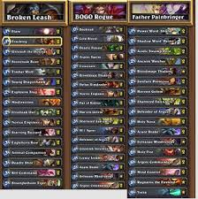hearthstone priest deck beginner how to build a rogue deck hearthstone howsto co