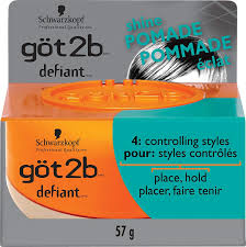Amazon.com : Got2b Defiant Define & Shine Pomade-2 Oz : Beauty