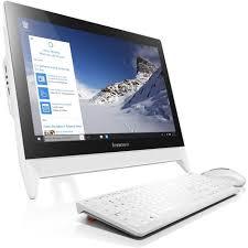 ordinateur de bureau prix ordinateur de bureau all in one c20 00 blanc lenovo pas cher à