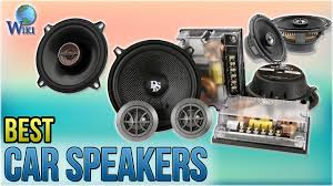 10 Best Car Speakers 2018 - YouTube