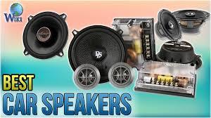 10 Best Car Speakers 2018 - YouTube