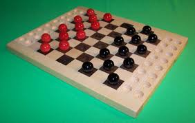 Wooden Marble Game Board