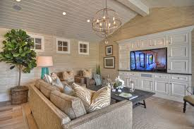 Seagrass Rug Living Room Beach With Area Beadboard Ceiling