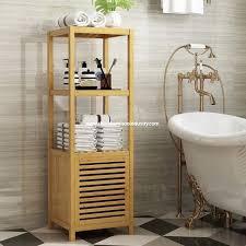 china bestes badezimmer bamboo storage hersteller