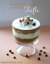 Pumpkin Spice Pudding Snickerdoodles by Pumpkin Spice Cinnamon Chip Trifle