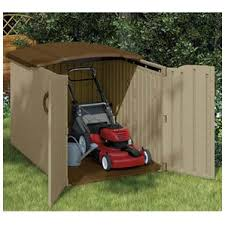 Suncast Garden Shed Taupe by Storage Sheds