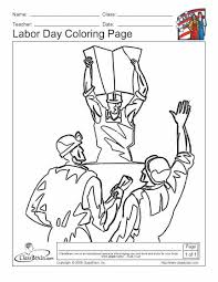 Labor Day Coloring