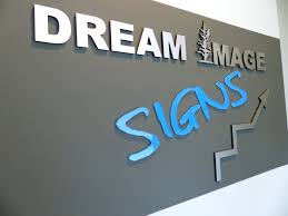 Calgary 1 Choice For Office Reception 3D Letters Signs Wall Logo