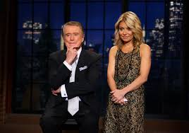 Kelly Ripa Halloween Skit by Why Regis Philbin Doesn U0027t Keep In Touch With Kelly Ripa After