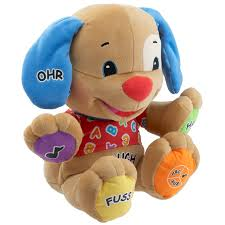 German Speaking Puppy From Fisher Price Laugh & Learn Range ... Fisher Price Laugh And Learn Farm Jumperoo Youtube Amazoncom Fisherprice Puppys Activity Home Toys Animal Puzzle By Smart Stages Enkore Kids Little People Fun Sounds Learning Games Press N Go Car 1600 Counting Friends Dress Sis Up Developmental Walmartcom Grow Garden Caddy