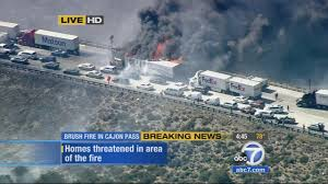VIDEO: Flames Engulf Big Rig On 15 Freeway As North Fire Spreads ... Fire Trucks 4 Hire Photo Video Gallery The Best Of Truck Toys For Toddlers Pics Children Toys Ideas Hall Tours View Royal Rescue No Seriously Why Are Red Vice Coloring Book And Pages Pages Vehicles Heavy Ethodbehindthemadness Video Dump Truck Driver Unaware Hes Hauling A Raging Fire Heymoon Bay Department Celebrates 70th Anniversary On Amazoncom Kids 1 Interactive Animated 3d V4kids Tv Colors Ebcs 79dfc32d70e3
