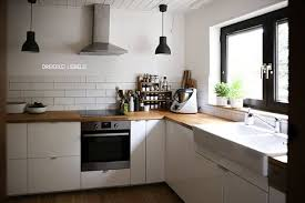 küchenideen ohne hängeschränke wohnung küche küche