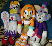 blaze the cat plush sonic the hedgehog fan items 9