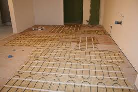 hydronic radiant floor heating design hydronic radiant floor heating installation heated bathroom