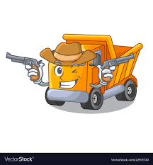 100 Cowboy Truck Cartoon Truck On The Table Learn Royalty Free Vector