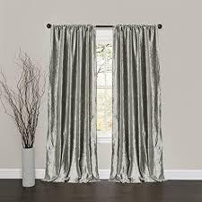 Dkny Modern Velvet Curtain Panels by Amazon Com Silver Grey Velvet Curtain 52 X 84 Inch Velvet