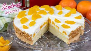 mandarinen quark torte mit biskuitboden in 10 min bereit für den ofen rezept für 26 cm springform