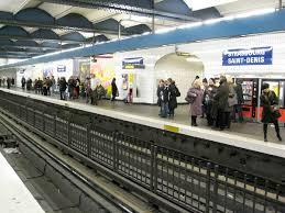 metro denis porte de strasbourg denis métro