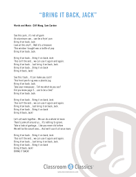Lyrics To The Front Porch Song – Decoto