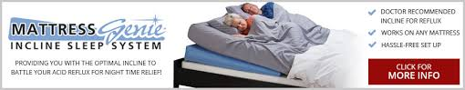 Inflatable Bed Wedge by Acid Reflux A Pain At Night The Mattress Genie Iss Can Help