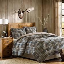 Amazon Woolrich White River Down Alternative Comforter Mini Set Twin Multi Home Kitchen