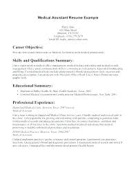 Sample Resume Example Qualifications Qualification Summary Examples Of Skills