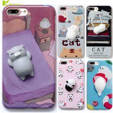 Squishy Phone Case for iPhone 6 6S 6 plus 3D Cute Soft 3D Cartoon