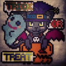 Halloween Perler Bead Templates by 582 Best Perlers Images On Pinterest Diy At Home And Couples