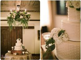 Rustic Garden Chic Wedding Cake Table Floral