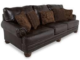 ashley leather antique sofa millennium mathis brothers