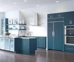 Turquoise Kitchen Cabinet Blue Painted Cabinets By Cabinetry Diy Rustic