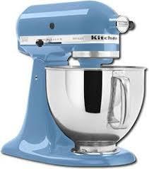 Shop KitchenAid Artisan Series TiltHead Stand Mixer Cornflower Blue At Best Buy