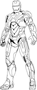 Iron Man 3 Coloring Pictures Heroes Pages Kid Activities