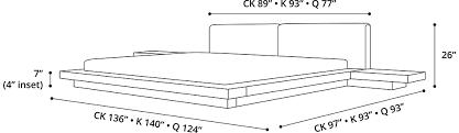 Modloft Platform Bed by Modloft Modern U0026 Contemporary Furniture Worth Queen Bed