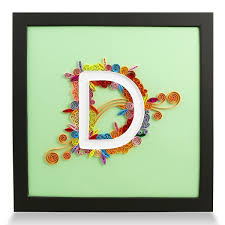 Amazoncom PaperTalk Letter D Handmade Birthday Personalized Gifts