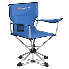 360° Free Rotation Collapsible Portable Swivel Camping Chair Ez Folding Chair Offwhite Knightsbridge Chairs Set Of 2 Lucite Afford Extra Comfort And Space Plastic Playseat Challenge Adams Manufacturing Quikfold White Blue Padded Club Wedo Zero Gravity Recling Folditure The Art Saving