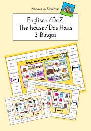bingo the house 3 spiele unterrichtsmaterial in den