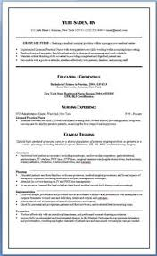 How To Write A Nursing Resume by Http Www Medicalfieldcareeroptions