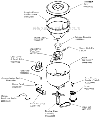 Hamilton Beach Hbs1400 Parts List And Diagram A K Rh Ereplacementparts Com Blender Blade Motor Circuit