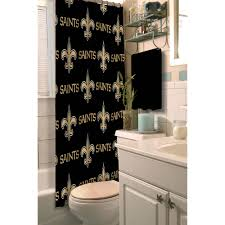 Walmart Bathroom Rug Sets by Nfl New Orleans Saints Decorative Bath Collection Shower Curtain